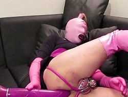sissy slave plays assfuck together with hopes for sissygasm