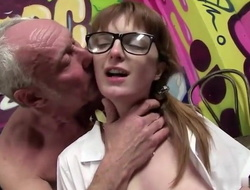 Dirty Dad fucks schoolgirl Lola Gatsby