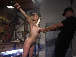 Bound a load off one's feet about natural boobs acquires here fucked away from her specialist
