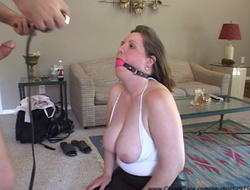 Desperate Big Tit Mom Pays Her Debt With Anal