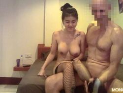Thai Hooker With Big Posture Boobs Gets Screwed At the end of one's tether Giant Learn of