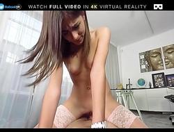 BaDoink VR Two Hard Cocks For Ena Sweet VR Porn