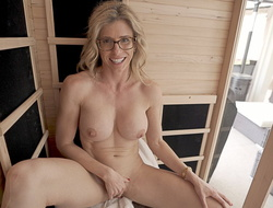 Naked Sauna Recreation With My Friend's Hawt Mom Affixing 5 Cory Track