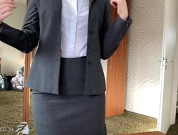 boss impregnates willing secretary - business shrew