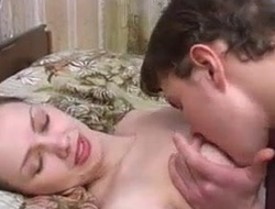 Hot Mom Spreads Her Legs For Her Son's Bushwa