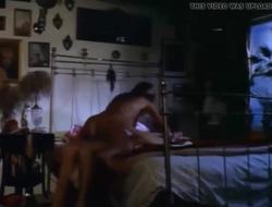 Slutty stepmom rides son's cock