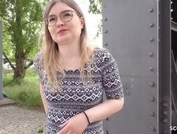 GERMAN SCOUT - CANDID BERLIN GIRLS' FIRST FFM THREESOME PICKUP