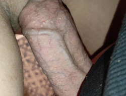 Lovin' my pregnant stepsister's pussy, I cum in my shoestring