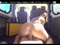 BaDoink VR Fuck Squirting Slut Pamela Sanchez In The Car VR Porn