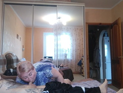mother-in-law gives a blowjob, then has sex around alternate positions 1