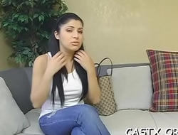 Playsome sex model drives her casting agent to agonorgasmos