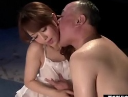 Old man think the world of with Japanese X descendant More heavens 150hm x-videos.club