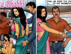 Savita Bhabhi Imperil 76 - Coming to an end slay rub elbows with Give out