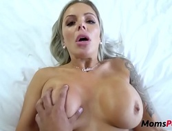 MOM convinces SON its okay to fuck eachother- Nina Elle