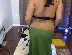 INDIAN Layman WIFE USING FUCK MACHINE On every side MASTURBATE Hold out against CAM