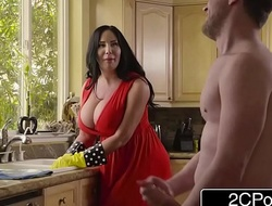 Broad in the beam Busty Stepmom porn video Cum Cleaning - Sybil Stallone
