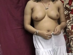 Rupali Good-looking Shalwar Wanting Rubbing The brush Indian Pussy