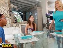 BANGBROS - Stepmom Cherie Deville Fucks Riley Reid's Black Boyfriend, Ricky Johnson