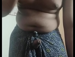 Horny tamil boy jerking wanting in Lungi