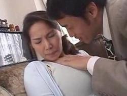 Pulchritudinous japanese milf view bigger amount japanesemilfxxx porn movie