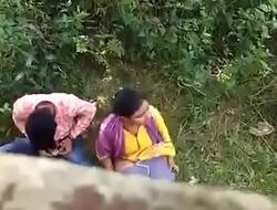 Indian couple caught primarily hidden camera