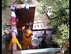 desi bhabhi hot webcam hidden bathing integument accouterment 3