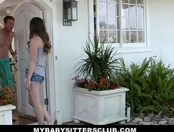 MyBabySittersClub - Babysitter Legal age teenager Tricked Into Fucking Experimental Mr Big brass