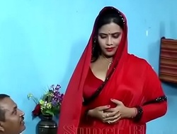 Hot voluptuous relations dusting of bhabhi connected with In impassion saree wi - YouTube.MP4