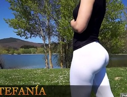 A perfect cameltoe newcomer disabuse of Spanish hot girl