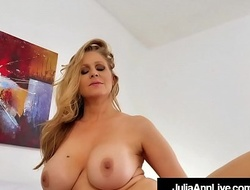 Domineer Elegant Milf Julia Ann Merely Wants To Fuck Someone!