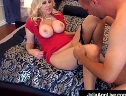 World Famous Milf Julia Ann Fucked Away from 2 Unintended Cocks!