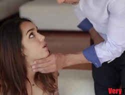 Papa fucks me unaffected by he fucks mama