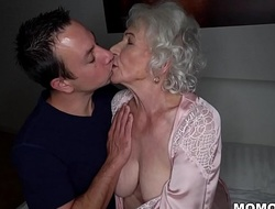 Be quiet, my husband's sleeping! - Club granny porn ever!