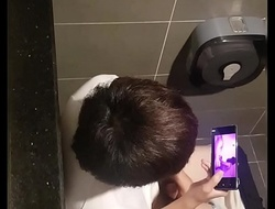 Spycam korean lad jeking 11
