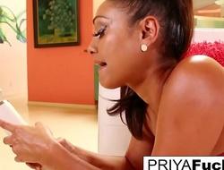 Order about MIlf Priya Rai using her marital-device here cum