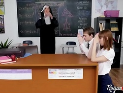 Christian NUN not so holy with students- Lilly Excursion &amp_ Alexa Nova