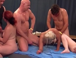 extreme depraved german swinger party fuckfest