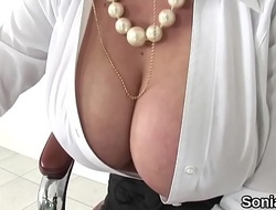 Cheating english milf lady sonia discloses her big billibongs