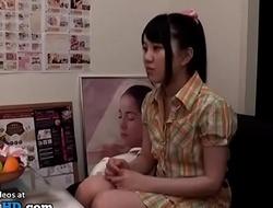 Japanese teen massage swan around extremely weird