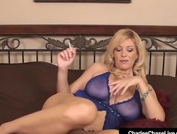 Mature Mummy Charlee Go out after Finger Fucks Her Pussy Smokin' Cig