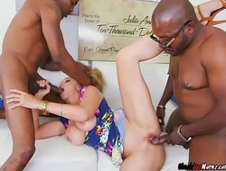 Hot MILF Julia Ann Acquires Demolished Away from Bodyguards