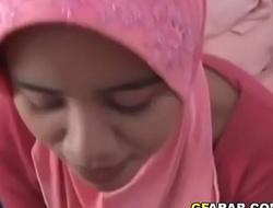I Spunk On A Cheater Arab Wife'_s Hijab