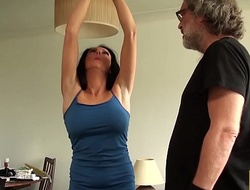 Self-conscious MILF Jess Scotland haunted and roughly screwed