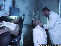 Daddy Doctor &_ His Big Dick Monster Fuck Nerdy Assistant