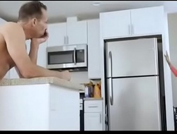 Daughter seduce dad while mom sleeping