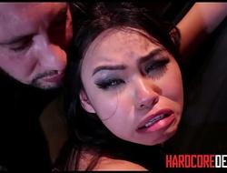 Youthful Asian Slave Cindy Starfall Hardcore Bondage BDSM Fucking