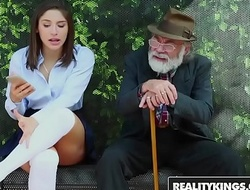 RealityKings - Teens Cherish Huge Cocks - (Abella Danger) - Bus Bench Creepin