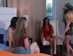 Jealous ex-student and their hot teacher - Jasmine Jae, Ashley Adams and Lena Paul