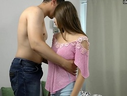 Outright fresh teen girl loses the brush continence plus on the spot ..