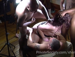 Chum around with annoy Private Society Gangbang Club For Lonely Housewives